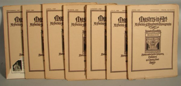 3019: Masaccio Masters in Art Illustrated Monographs Ma