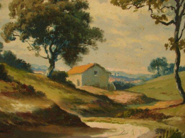 3088: Alex Lefort Signed Oil Painting on artist's board - 4