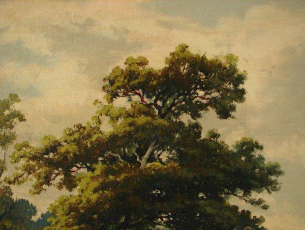 3088: Alex Lefort Signed Oil Painting on artist's board - 5