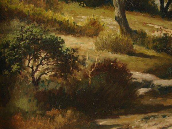 3088: Alex Lefort Signed Oil Painting on artist's board - 6