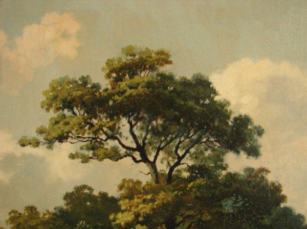 3088: Alex Lefort Signed Oil Painting on artist's board - 7