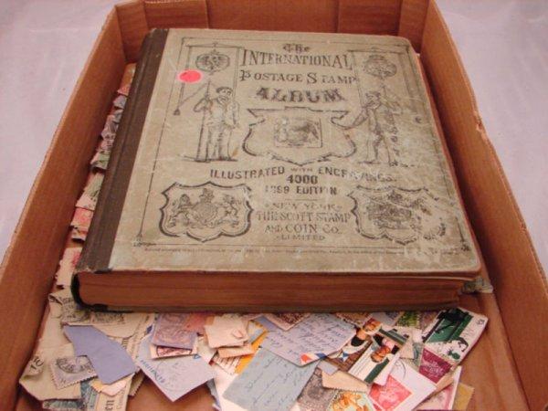5003: International Foreign Postage Stamp Album. 1899 E