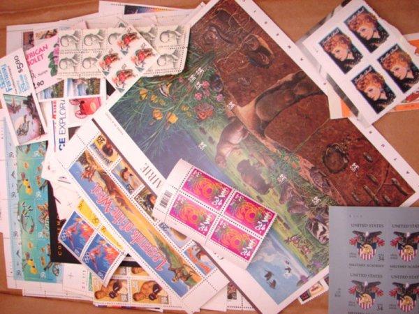 5005: $260.00 + face U.S. Postage