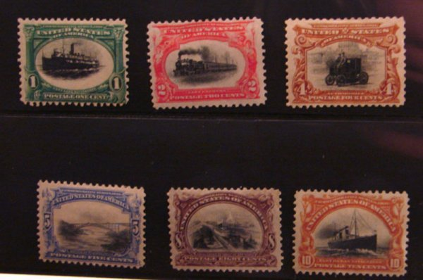 5013: Set of Pan American Expo Issues Scott's # 294-299