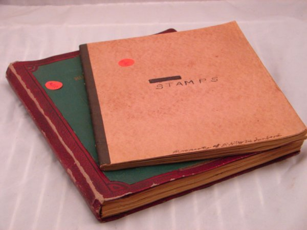 5020: Two Home Made Stamp Albums. U.S. and Foreign