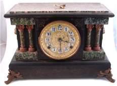 Antique Seth Thomas Faux Onyx, Faux Marble Archit