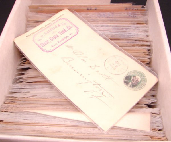 1009: Pre-stamped and Canceled U.S. Envelopes. Approxim
