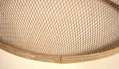 2278: Antique Graduated Mesh Food Covers. Five covers w - 3