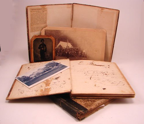 2300: Civil War Diaries from 61st Pennsylvania Voluntee