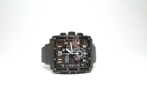 Jacob & Co Epic 1 Black PVD Automatic Chronograph Watch