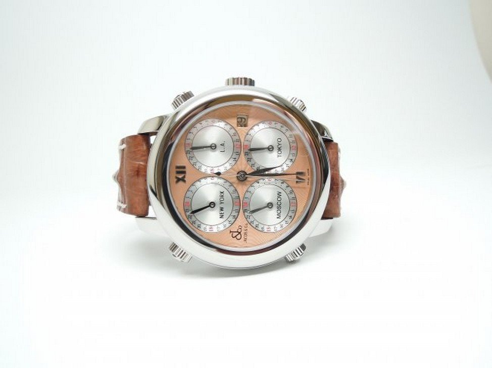 Jacob & Co H24R Automatic Five Time Zone 47.5mm Watch