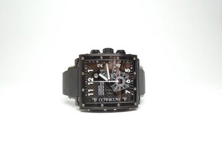 Jacob & Co Epic 1 Black PVD Automatic Chronograph Watch