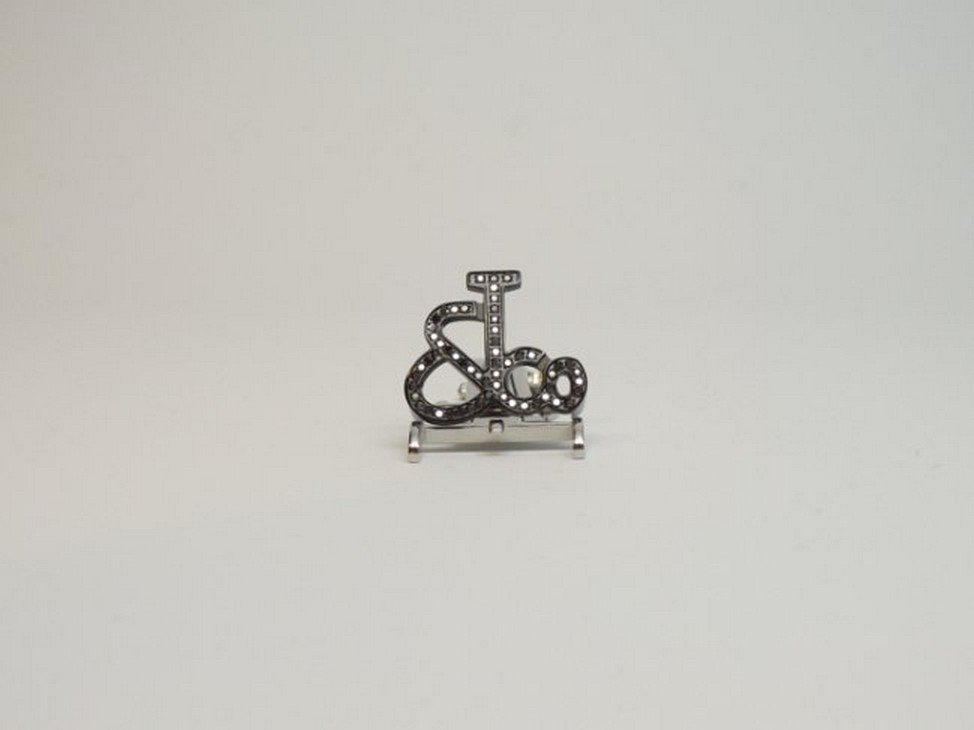Jacob & Co Black Diamond PVD Buckle for 47mm Watch