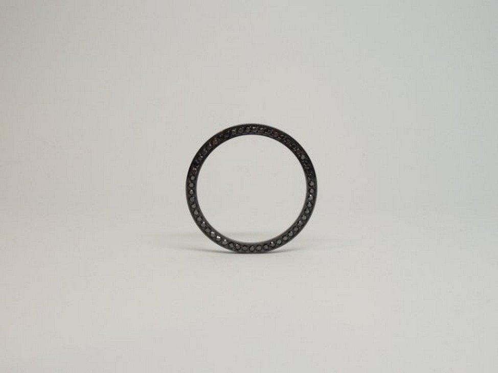 Jacob & Co 3.25 ctw Black Diamond Bezel for 47mm Watch
