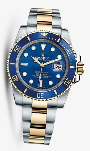 Rolex Submariner Steel & Yellow Gold Blue Dial 116613LB