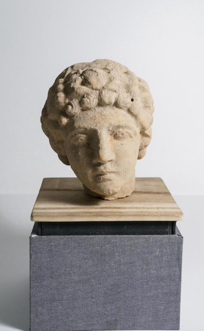 ANCIENT ROMAN CLAY HEAD - 2