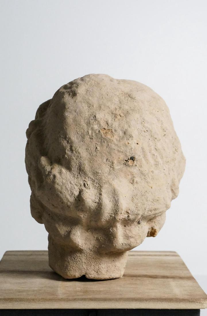 ANCIENT ROMAN CLAY HEAD - 5
