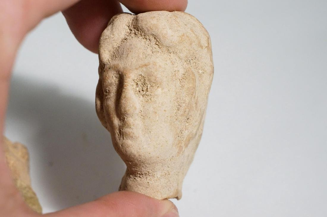 GROUP OF 8 ANCIENTASSYRIANCLAY HEADS - 6
