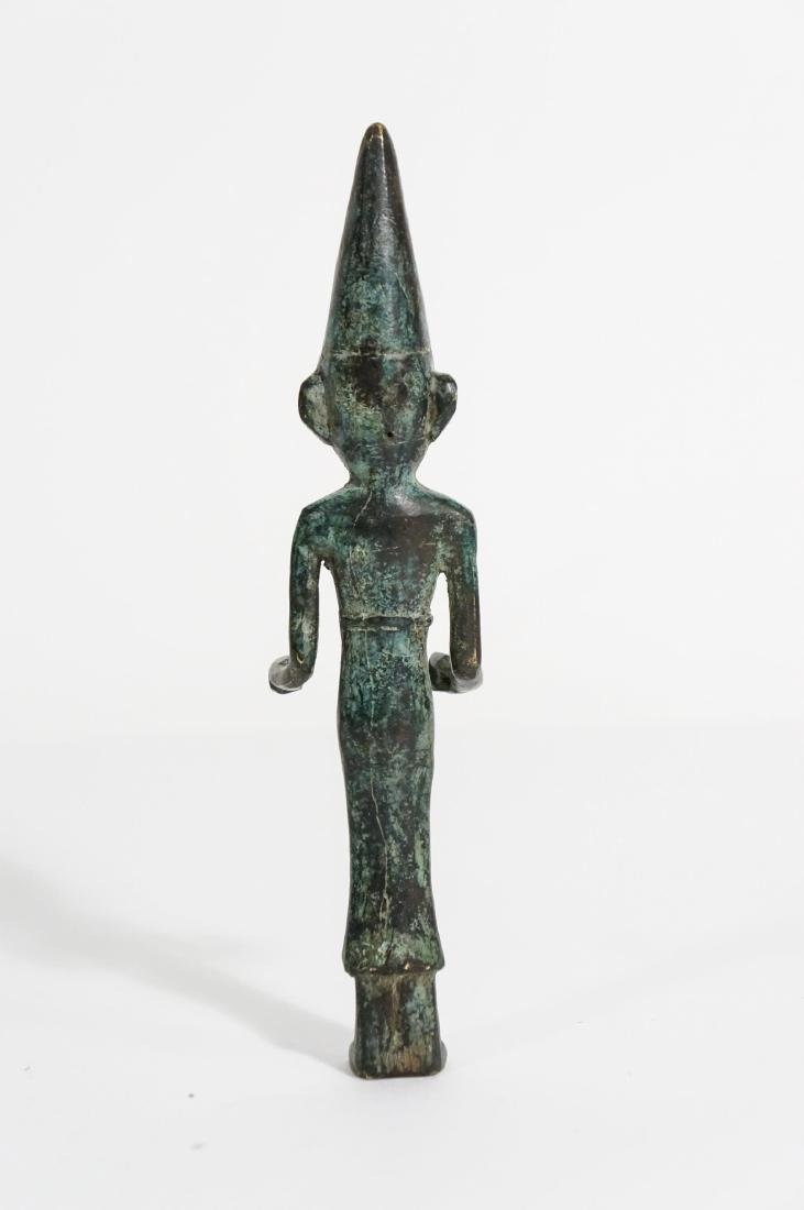 ANCIENT PHOENICIAN BRONZE FIGURE - 4