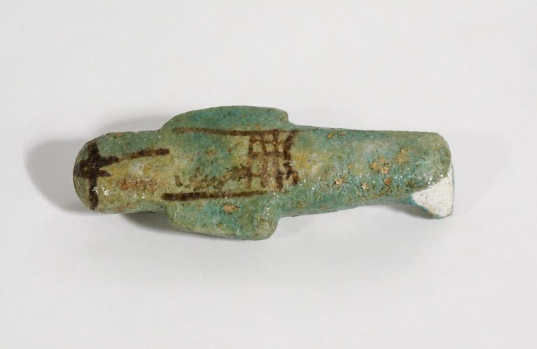 ANCIENT EGYPTIAN FAIENCE USHABTI OLD KINGDOM - 4