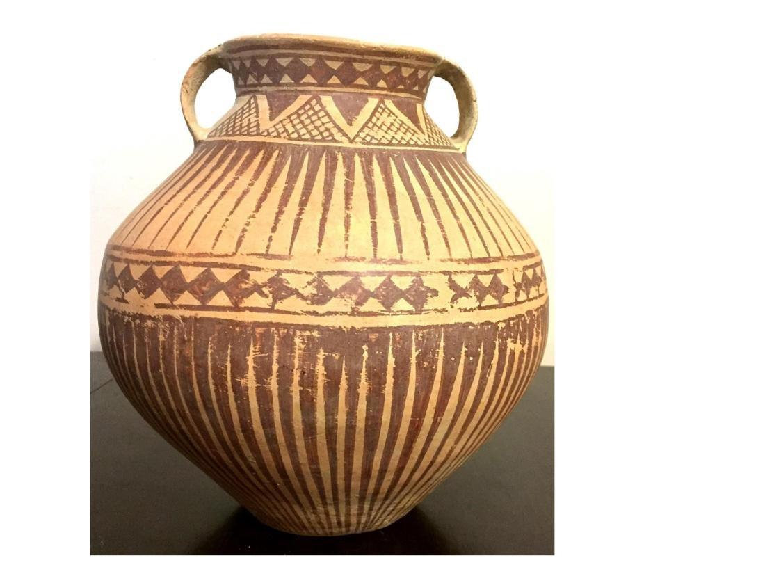 ANCIENT ROMAN CLAY JAR - 4