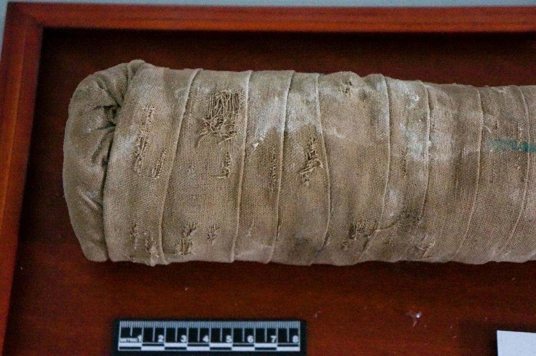 ANCIENT EGYPTIAN PTOLEMAIC PERIOD CAT MUMMY - 3