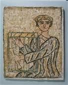 ANCIENT ROMAN MOSAIC STONE PANEL