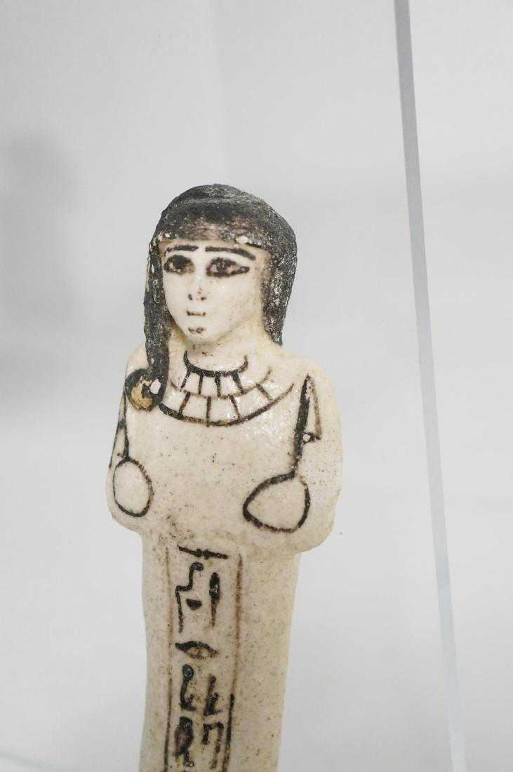 ANCIENT EGYPTIAN FAIENCE USHABTI - 3