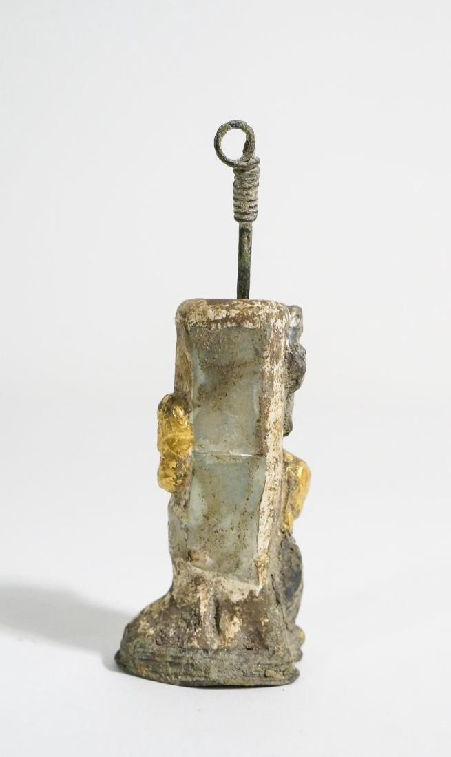 ANCIENT ROMAN BONE COSMETIC JAR - 2