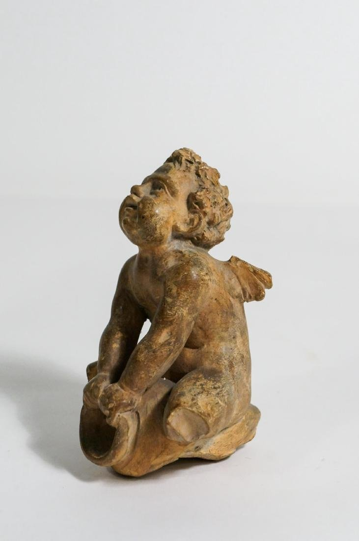 ANCIENT GREEK HELLENISTIC TERRACOTTA FIGURE - 3