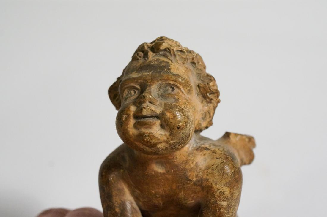 ANCIENT GREEK HELLENISTIC TERRACOTTA FIGURE - 4