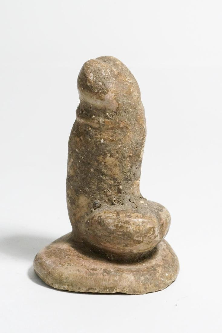 ANCIENT EGYPTIAN ROMAN LIMESTONE PHALLUS