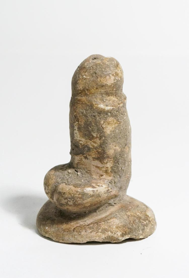 ANCIENT EGYPTIAN ROMAN LIMESTONE PHALLUS - 2