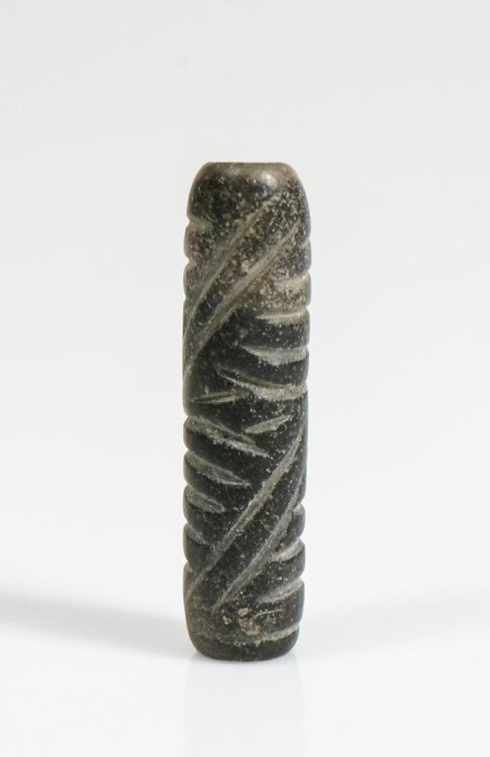 ANCIENT CYLINDRICAL BEAD