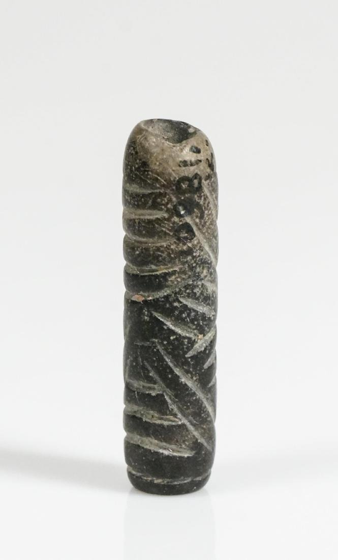 ANCIENT CYLINDRICAL BEAD - 2
