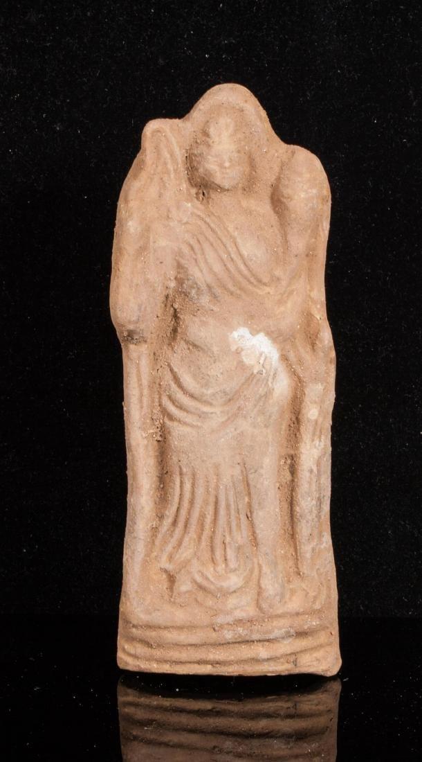 ANCIENT ROMAN CLAY FEMALE IDOL