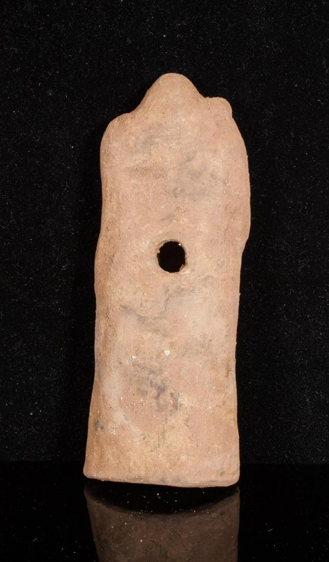 ANCIENT ROMAN CLAY FEMALE IDOL - 2