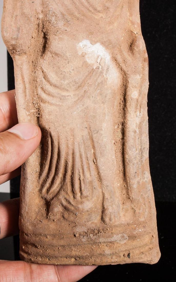 ANCIENT ROMAN CLAY FEMALE IDOL - 4