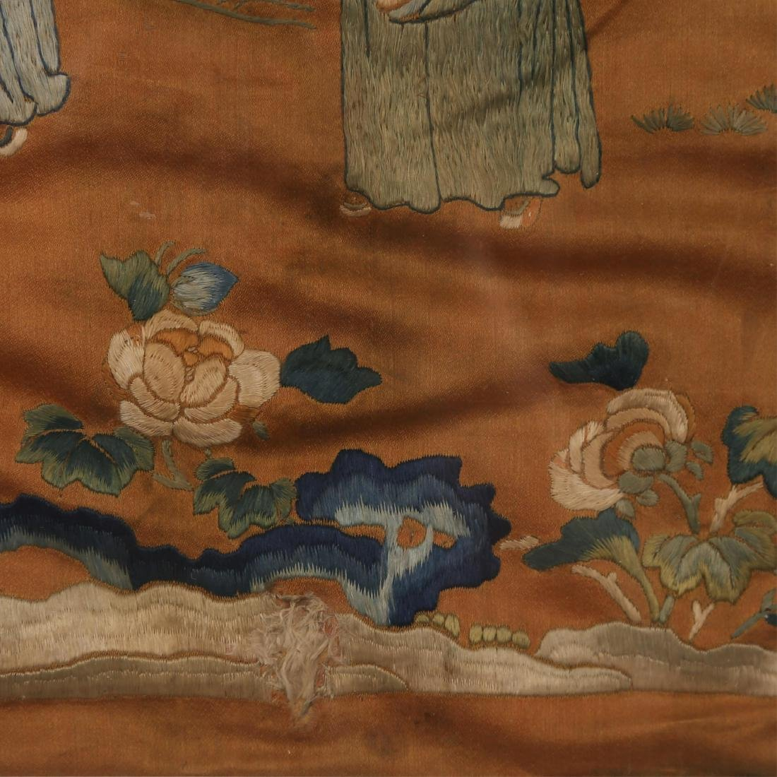 CHINESE KESI PANEL OF LOHAN, QING DYNASTY - 4