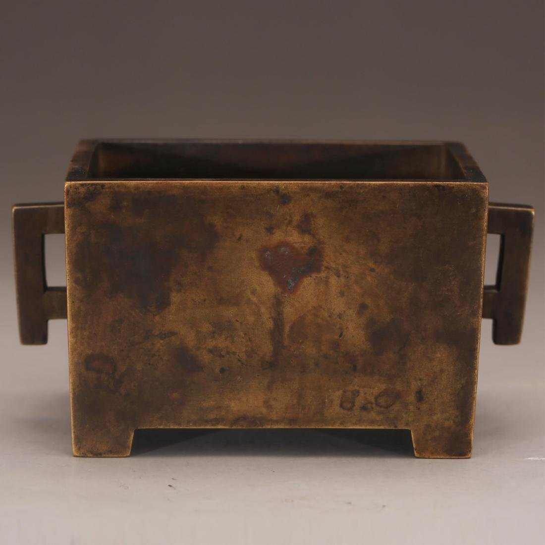 CHINESE BRONZE CENSER, QING OR EARLIER