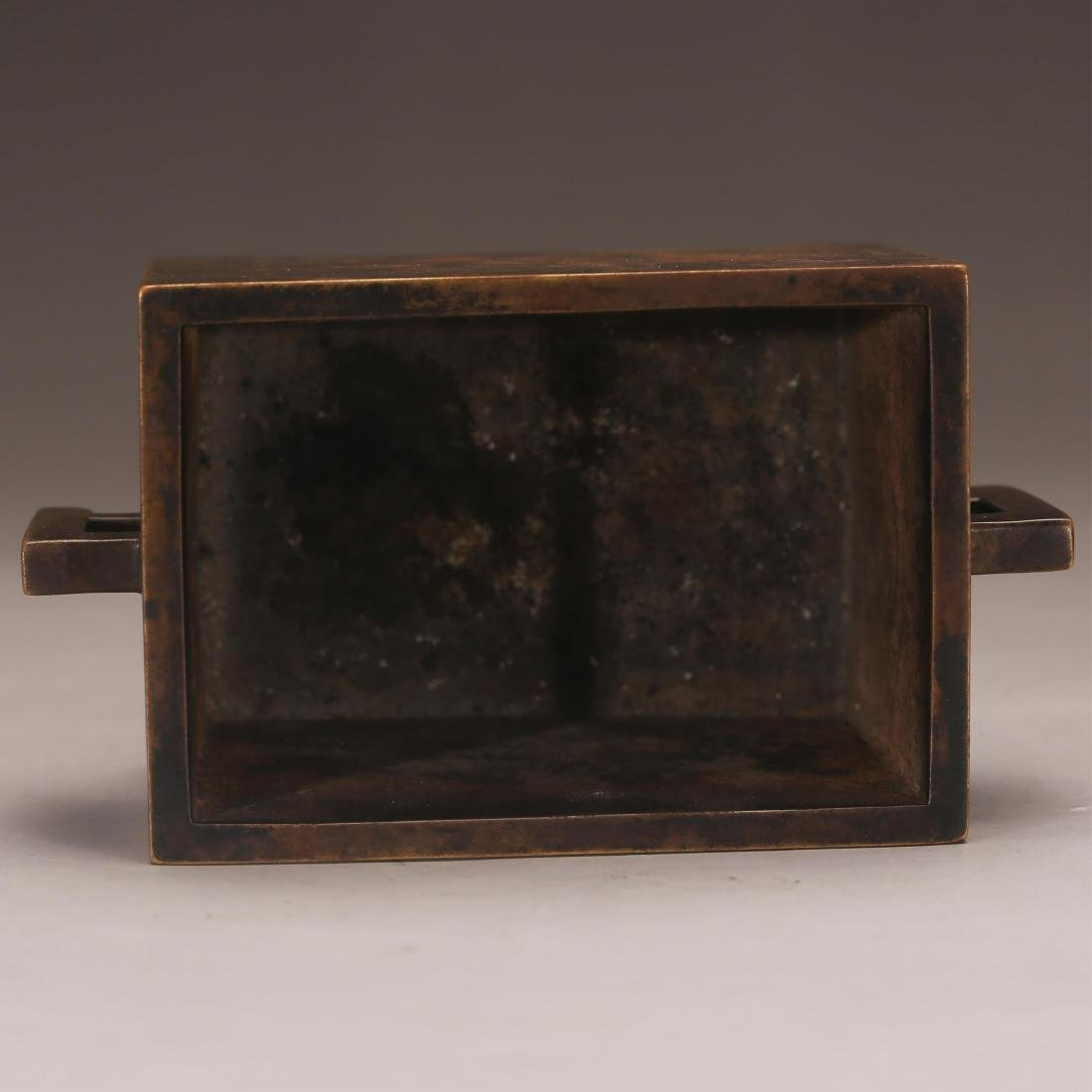 CHINESE BRONZE CENSER, QING OR EARLIER - 3