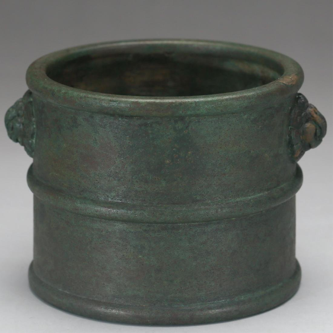 CHINESE BRONZE CENSER, MING DYNASTY