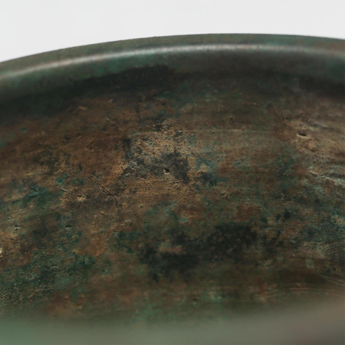 CHINESE BRONZE CENSER, MING DYNASTY - 6