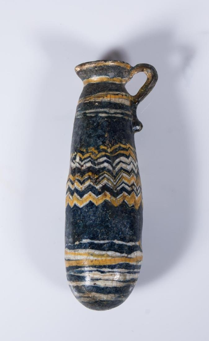 ANCIENT EGYPTIAN CORE -FORMED GLASS ALABASTER