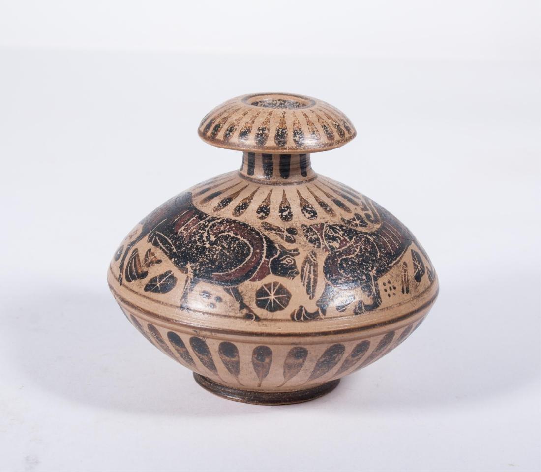 ANCIENT ROMAN OIL LAMP 100AD - 2