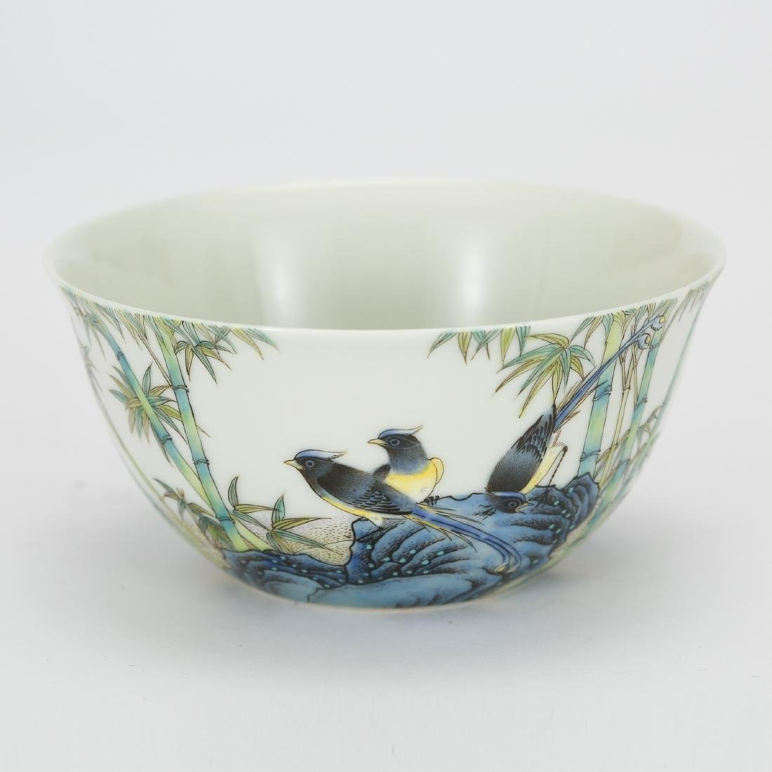 CHINESE PAINTED PORCELAIN BOWL