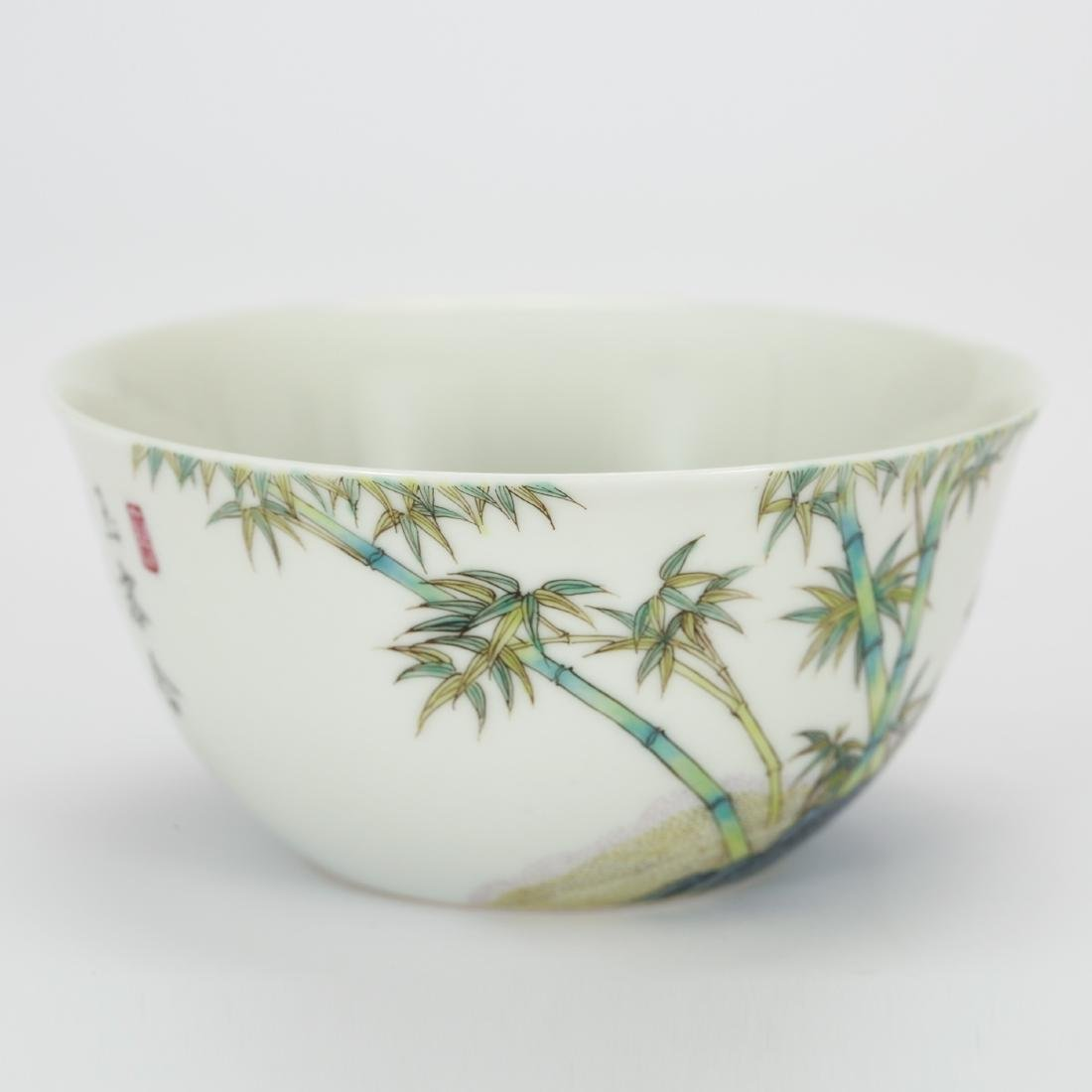 CHINESE PAINTED PORCELAIN BOWL - 4