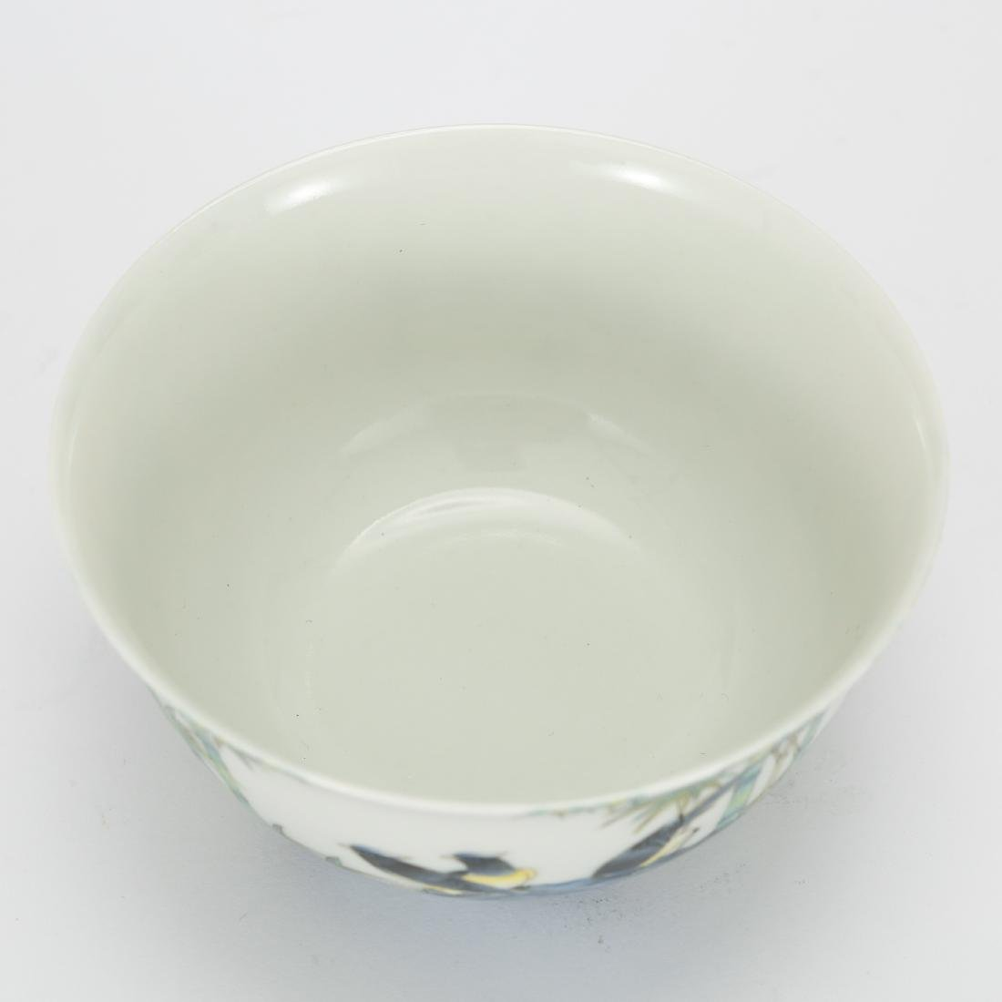 CHINESE PAINTED PORCELAIN BOWL - 5