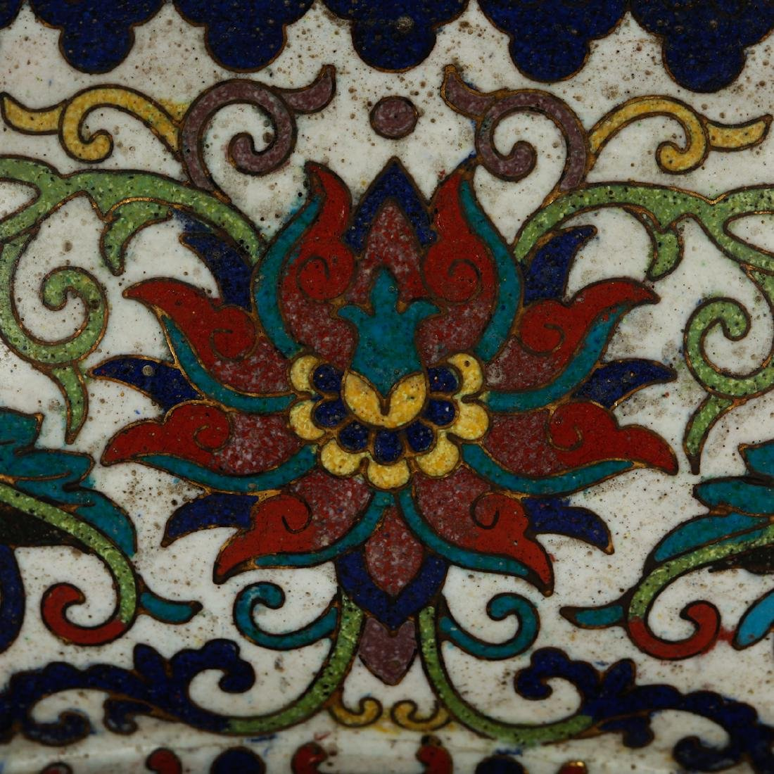 CHINESE CLOISONNE BOWL - 5