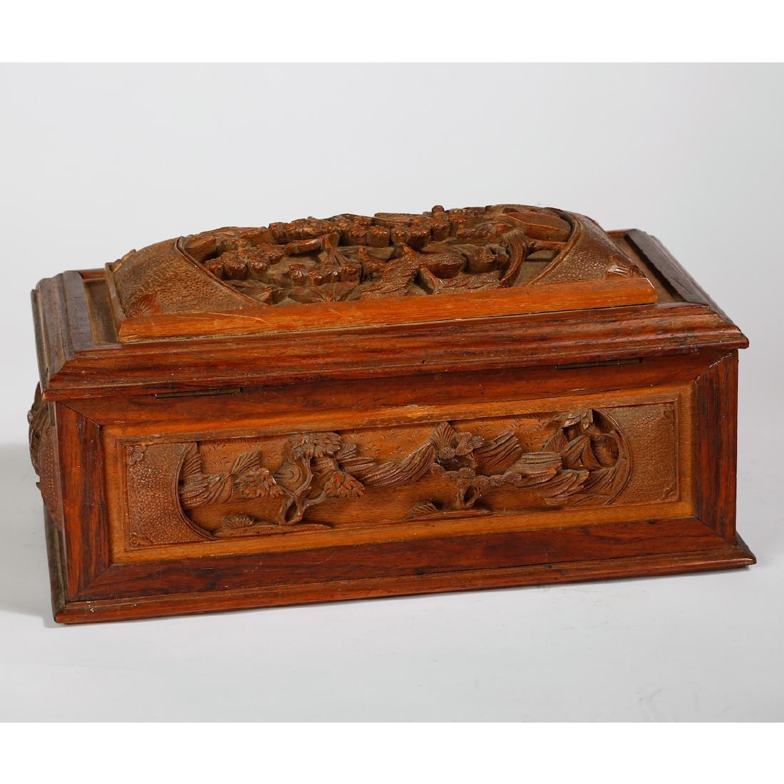 CHINESE BOXWOOD BOX - 3